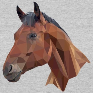 Bay Horse Head Graphic - Women's 50/50 T-Shirt