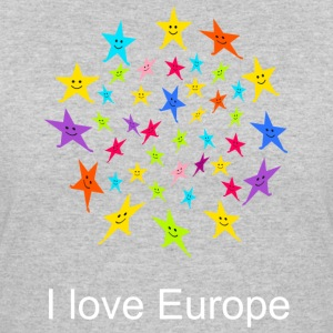 I love Europe Tshirt - Women's 50/50 T-Shirt