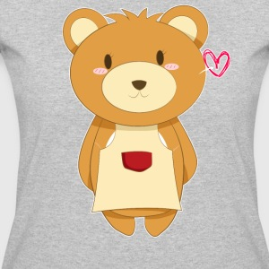 Love My Mama Bear - Women's 50/50 T-Shirt