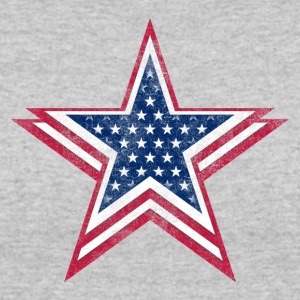 4th of July Big star, happy independence day - Women's 50/50 T-Shirt