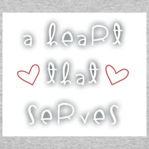 Serving heart - Women's 50/50 T-Shirt