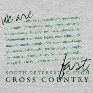 SOUTH PETERSBURG HIGH CROSS COUNTRY - Women's 50/50 T-Shirt