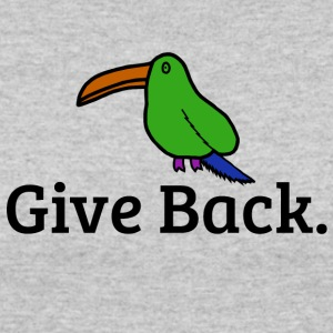 Give Back Bird - Women's 50/50 T-Shirt