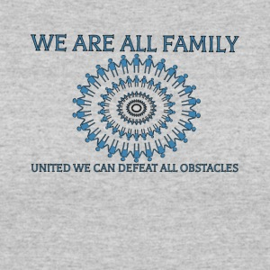 WE ARE FAMILY - Women's 50/50 T-Shirt