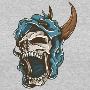 screaming_skull - Women's 50/50 T-Shirt