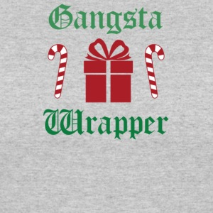 Gangsta Wrapper Christmas - Women's 50/50 T-Shirt