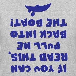 If You Can Read This Pull Me Back In The Boat Tee - Women's 50/50 T-Shirt