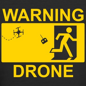 Exit Warning Drone - Women's 50/50 T-Shirt