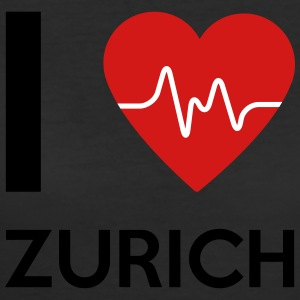 I Love Zurich - Women's 50/50 T-Shirt