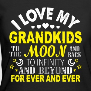 I Love My Grandkids T Shirt - Women's 50/50 T-Shirt