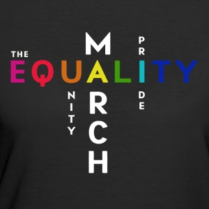 The Pride Equality March Washington DC June 11 - Women's 50/50 T-Shirt