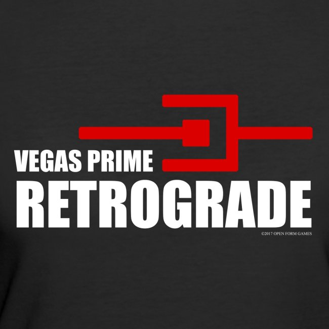 Vegas Prime Retrograde - Title and Hack Symbol