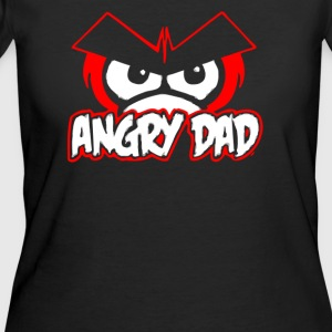 Angry Dad Spoof - Women's 50/50 T-Shirt