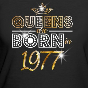 1977 - Birthday - Queen - Gold - EN - Women's 50/50 T-Shirt