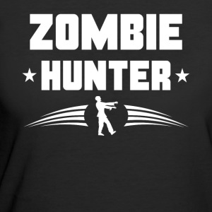 Zombie Hunter Zombie Silhouette - Women's 50/50 T-Shirt