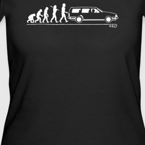 Evolution of Man car 940 - Women's 50/50 T-Shirt