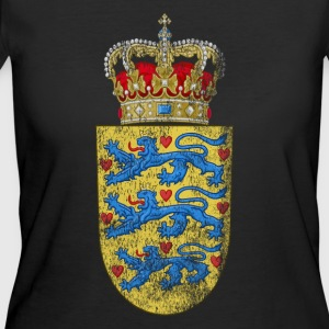 Danish Coat of Arms Denmark Symbol - Women's 50/50 T-Shirt