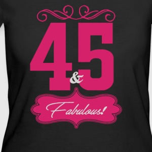 Forty Five And Fabulous - Women's 50/50 T-Shirt