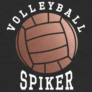 Rose Gold Volleyball Spiker - Women's 50/50 T-Shirt