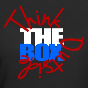 Think Outside The Box - Women's 50/50 T-Shirt