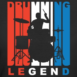 Red White And Blue Drumming Legend - Women's 50/50 T-Shirt