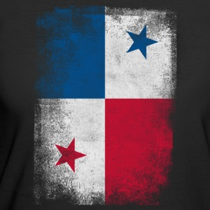 Panama Flag Proud Panamanian Vintage Distressed - Women's 50/50 T-Shirt