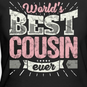 Cool family gift shirt: World's best cousin ever - Women's 50/50 T-Shirt