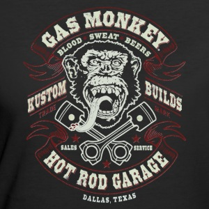 GAS MONKEY LOGO - Women's 50/50 T-Shirt