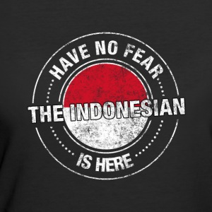 Have No Fear The Indonesian Is Here - Women's 50/50 T-Shirt