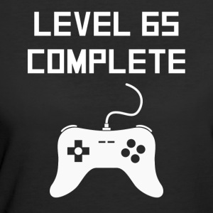 Level 65 Complete Video Games 65th Birthday - Women's 50/50 T-Shirt