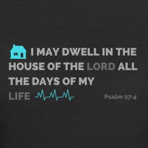 Psalm 27:4 - Women's 50/50 T-Shirt