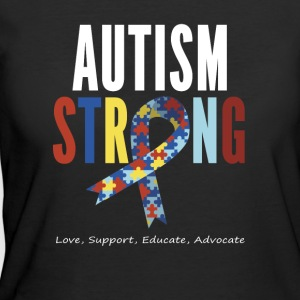 Autism Awareness T shirt For Mom / Dad/ Kid - Women's 50/50 T-Shirt