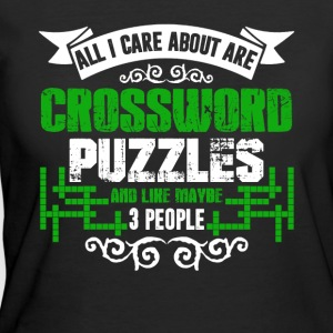 Crossword Puzzles Shirts - Women's 50/50 T-Shirt