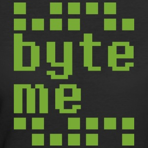 Byte Me T Shirt - Women's 50/50 T-Shirt