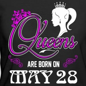 Queens are born on May 28 - Women's 50/50 T-Shirt