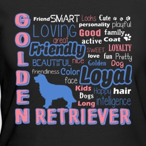Golden Retriever Shirt - Women's 50/50 T-Shirt