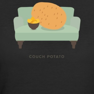 Couch Potato Pun - Women's 50/50 T-Shirt