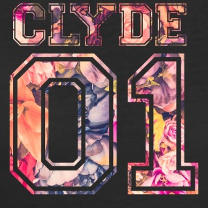 Clyde_01_vintage_flower_bunt2 - Women's 50/50 T-Shirt