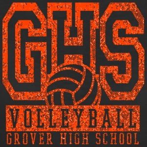 VOLLEYBALL GROVER HIGH SCHOOL GHS - Women's 50/50 T-Shirt