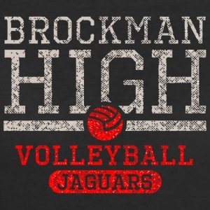 Brockman High Volleyball Jaguars - Women's 50/50 T-Shirt