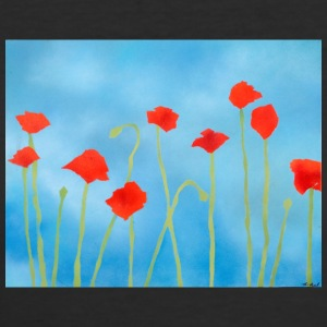 Summer poppies - Women's 50/50 T-Shirt