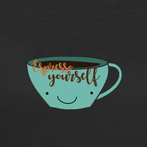 espresso yourself cute mug - Women's 50/50 T-Shirt