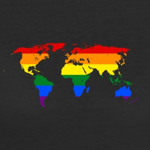 LGBT Pride Rule the Wold - Women's 50/50 T-Shirt