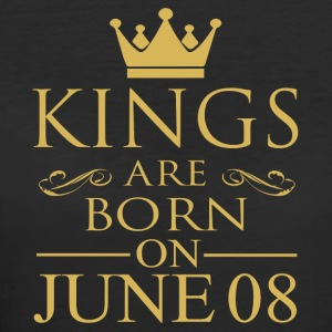 Kings are born on June 08 - Women's 50/50 T-Shirt