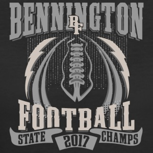 Bennington BF Football State 2017 Champs - Women's 50/50 T-Shirt