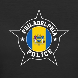 Philadelphia Police T Shirt - Philadelphia flag - Women's 50/50 T-Shirt
