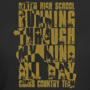 DEXTER HIGH SCHOOL CROSS COUNTRY TEAM - Women's 50/50 T-Shirt