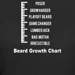Beard Level - Women's 50/50 T-Shirt