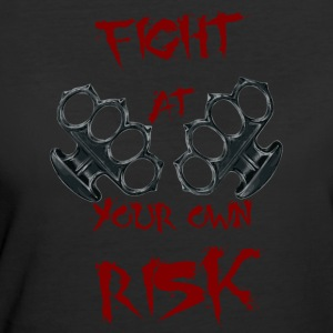 Fight At Your own RISK - Women's 50/50 T-Shirt