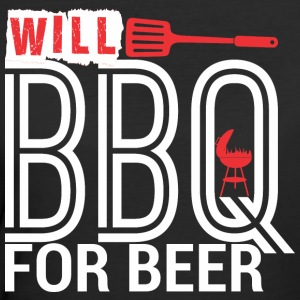 Will BBQ For Beer Barbecue - Women's 50/50 T-Shirt